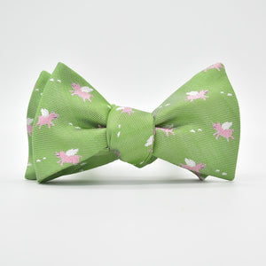When Pigs Fly: Bow Tie – Lime