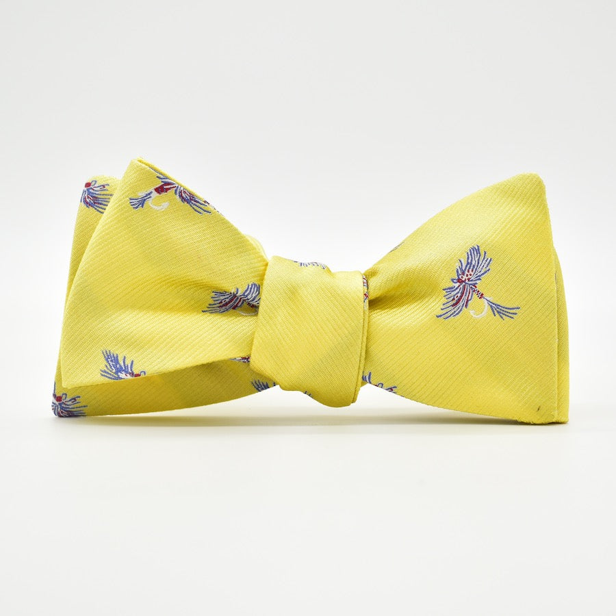 Royal Wulff: Bow Tie - Yellow