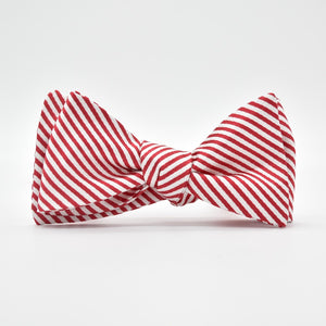 Signature Stripe: Bow Tie - Red