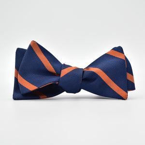 Stowe: Bow Tie - Navy/Orange