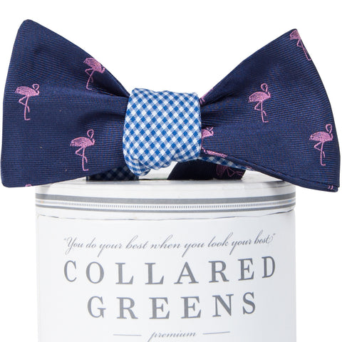 Fancy Flamingo Mixer Bow Tie