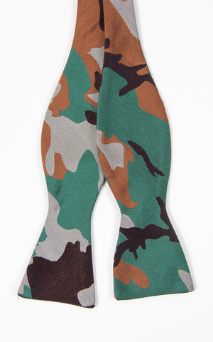 Camo Bow Tie Bow Ties - Collared Greens American Made