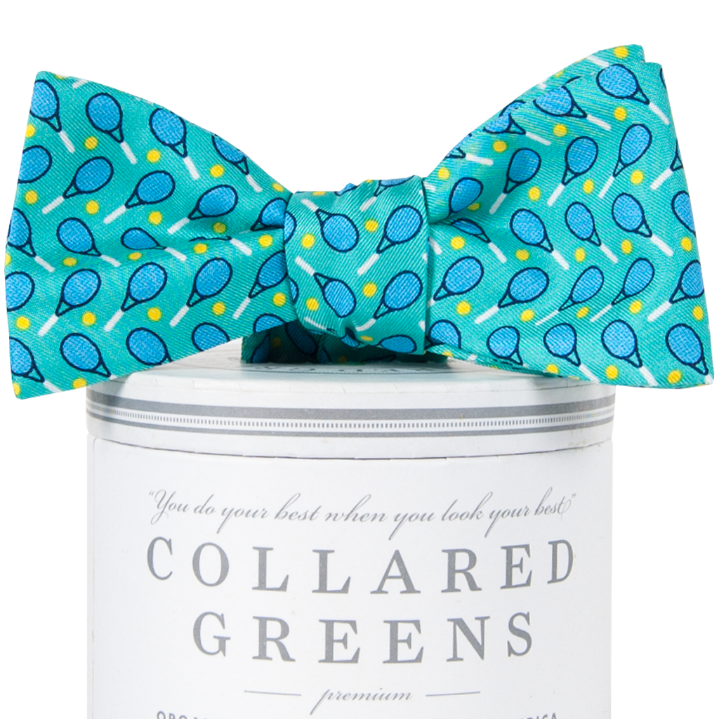 Match Point Bow TIe Bow Ties - Collared Greens American Made