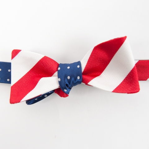 Stars & Stripes Mixer Bow Tie - Collared Greens
