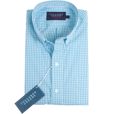 The Belle Button Down Shirt Poseidon