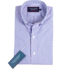 The Belle Button Down Shirt Wild Berry