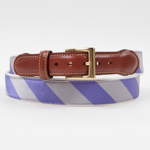 Chattahoochee Belt Purple/Silver Belts - Collared Greens American Made