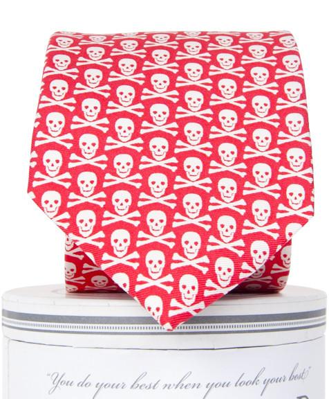 Walk the Plank: Boys Tie - Coral