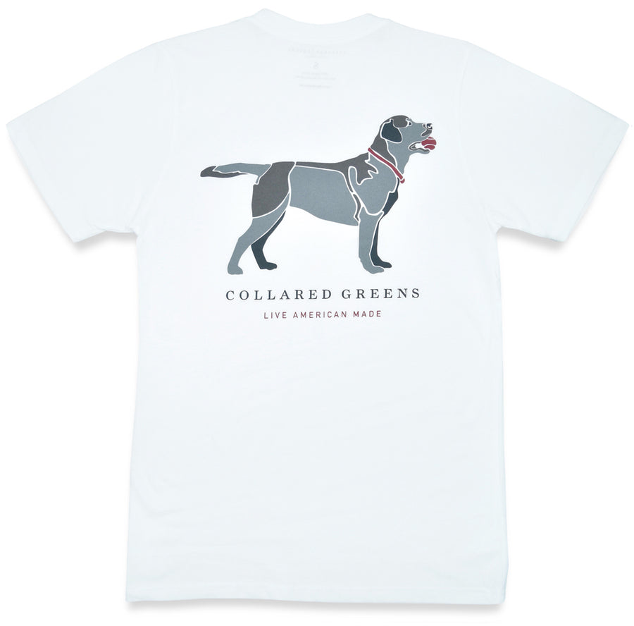Good Boy: Short Sleeve T-Shirt - White