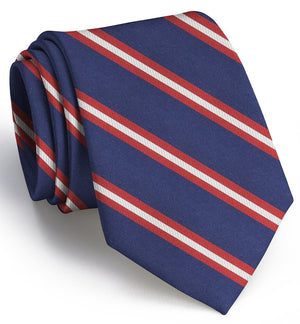Berkshire: Extra Long - Navy/Red