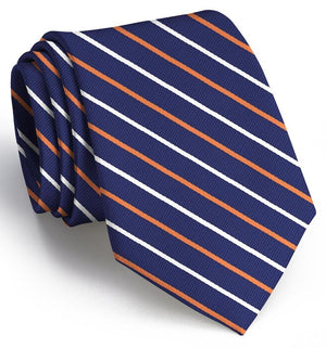 Lewis: Extra Long - Navy/Orange