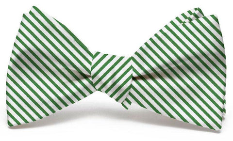 Signature Stripe: Bow Tie - Dark Green