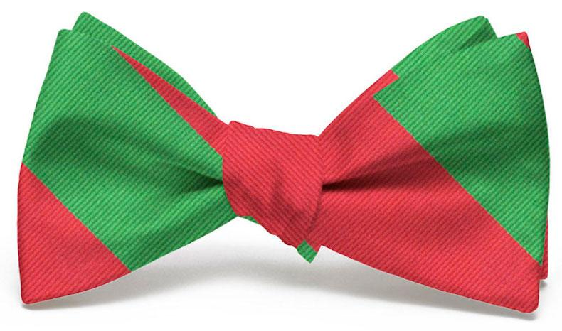 Griswold: Bow Tie - Red/Green