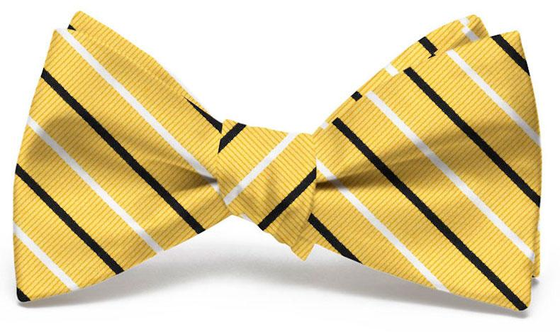 Lewis: Bow Tie - Yellow/Black
