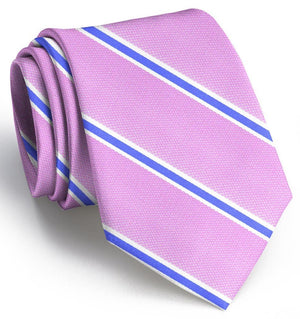 James: Tie - Pink/Blue