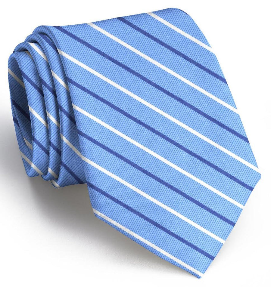 Lewis: Tie - Light Blue/Navy