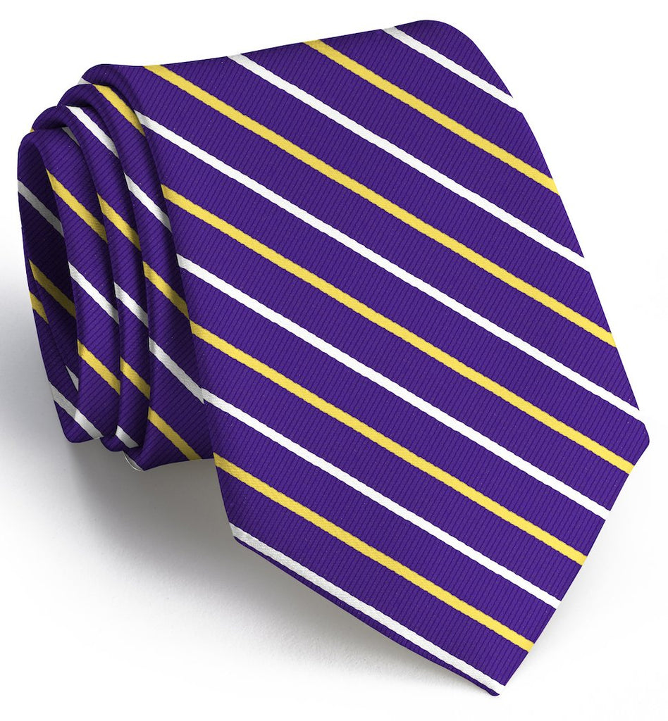 Lewis: Tie - Purple/Yellow