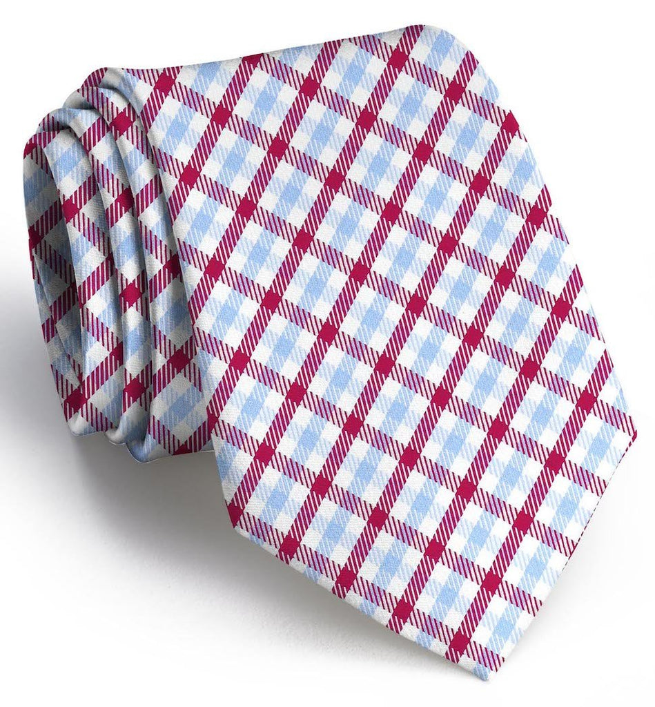 Gameday: Tie - Light Blue/Red