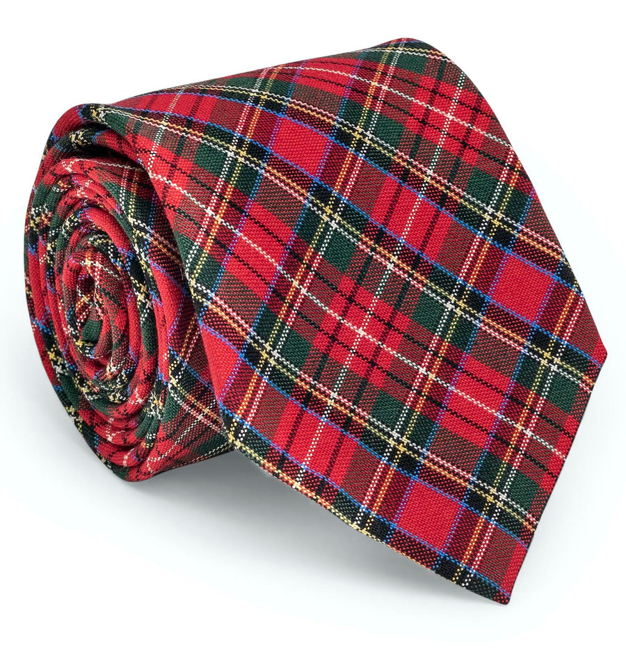 Prince of Wales: Tie - Red/Green