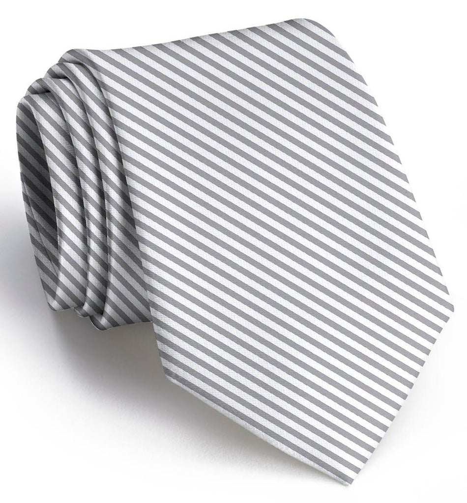 Signature Series: Boys Tie - Wolf Grey