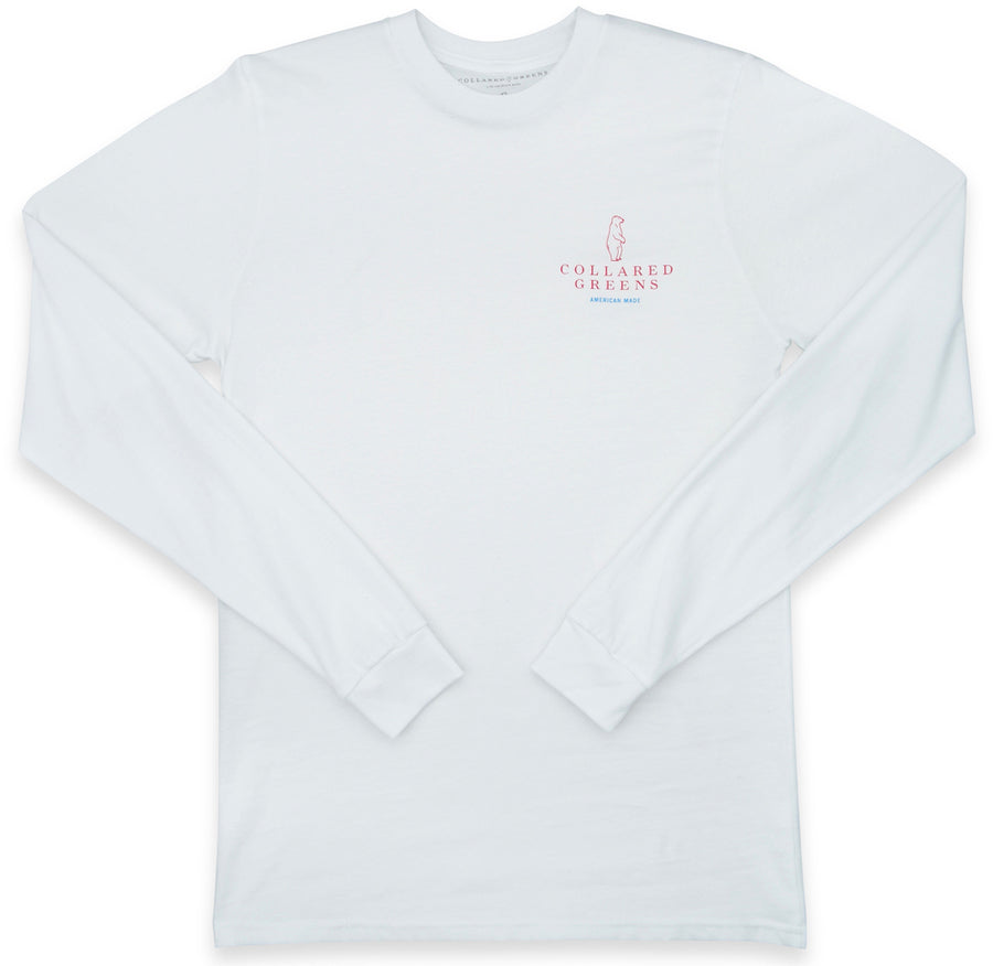 Flying Squirrel: Long Sleeve T-Shirt - White (XL)