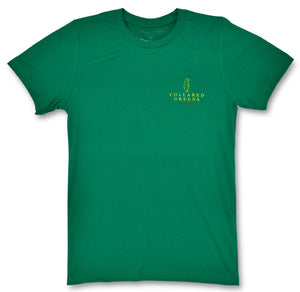 The Patron: Short Sleeve T-Shirt - Augusta Green