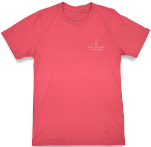 Hibernation: Short Sleeve T-Shirt - Coral