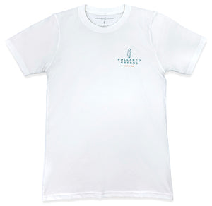 Deep Woods Angler: Short Sleeve T-Shirt - White