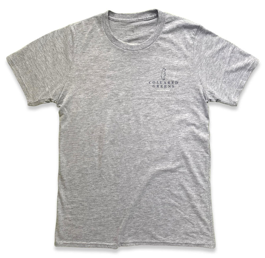 Singing Trout: Short Sleeve T-Shirt - Gray