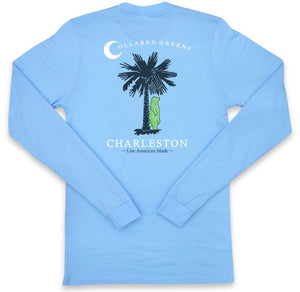 Palmetto Bear: Long Sleeve T-Shirt - Carolina
