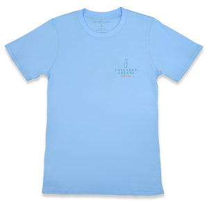 Deep Woods Angler: Short Sleeve T-Shirt - Carolina