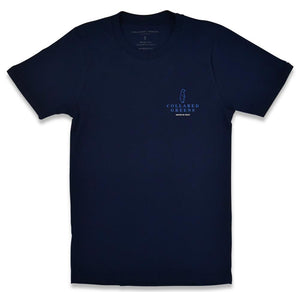 Outboard: Short Sleeve T-Shirt - Navy