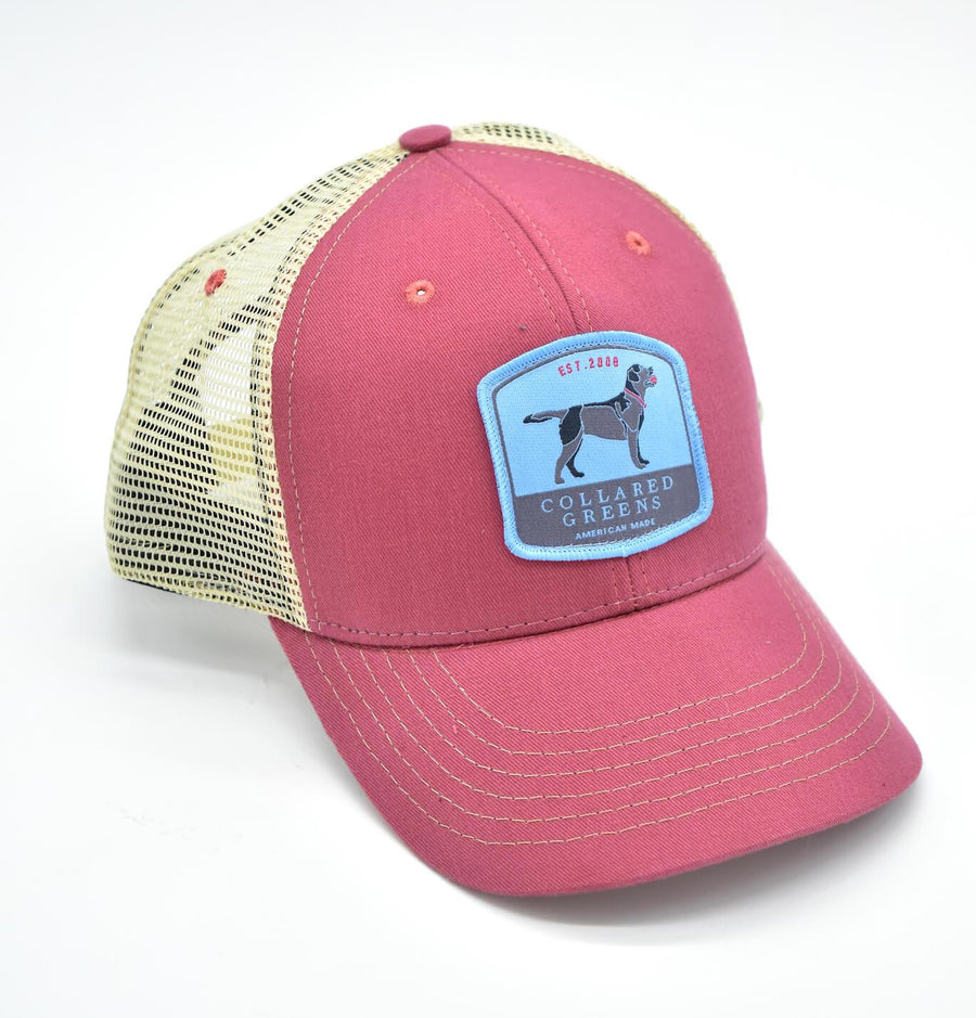 Black Lab: Trucker Cap - Port Side Red