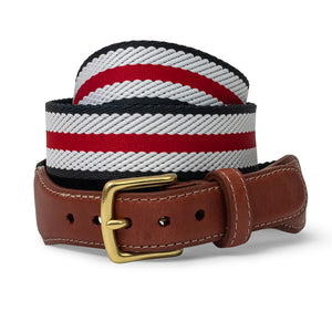 Dockside: Belt - Red/White/Black