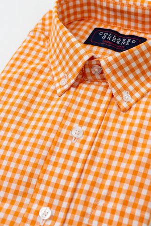 Wilton: Brookline Button Down - Orange
