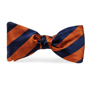 Dulles: Bow Tie - Orange/Navy