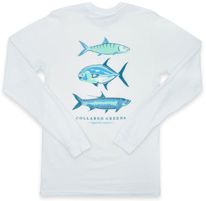 Grand Slam: Long Sleeve T-Shirt - White