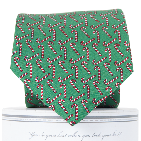 Candy Canes Tie