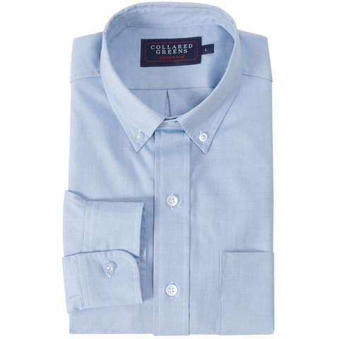 Classic Blue Signature Dress Shirt Dress Shirts - Collared Greens American Made