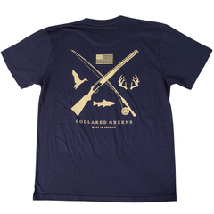 Field & Stream Short Sleeve T-Shirt Short Sleeve T-Shirts - Collared Greens American Made