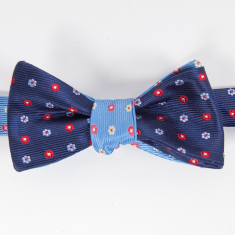 Flower Power Mixer Bow Tie Bow Ties - Collared Greens American Made