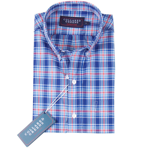 The Floyd Button Down Shirt Cornflower
