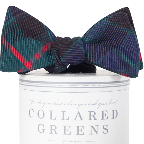 Sale collared greens american made clothing american made collared greens forest bow tie classic wool plaid navy green red ccuart Image collections