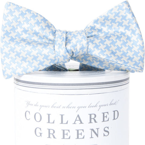 American Made Collared Greens Gatsby Bow Tie Carolina Classic Houndstooth