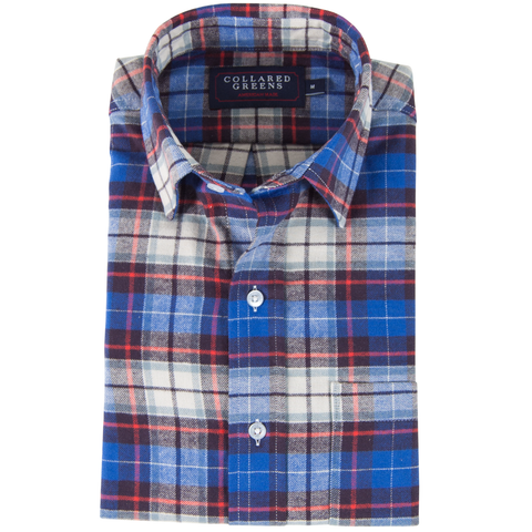 The Gordon Flannel Button Down Shirt