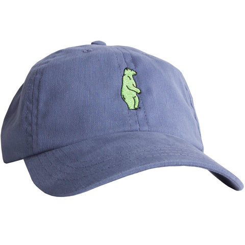 Green Bear Hat Cool River