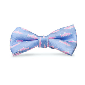 Trout: Boys Bow Tie - Sky