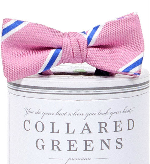 Boys James Bow Tie Pink