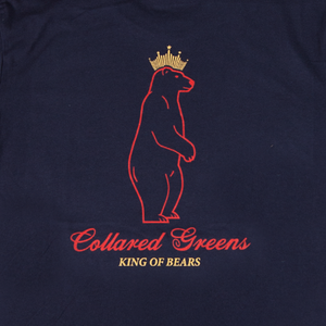 King Of Bears Short Sleeve T-Shirt Short Sleeve T-Shirts - Collared Greens American Made