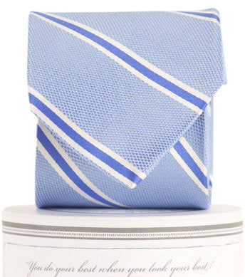 Boys James Tie Blue